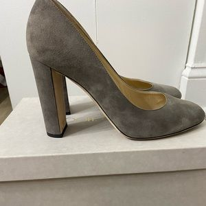 Jimmy Choo Laria 100 suede pumps
